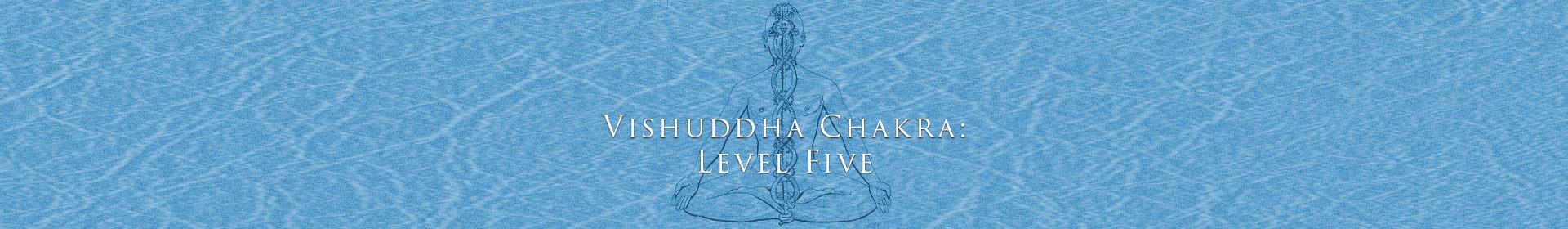 Vishuddha Chakra: Level Five