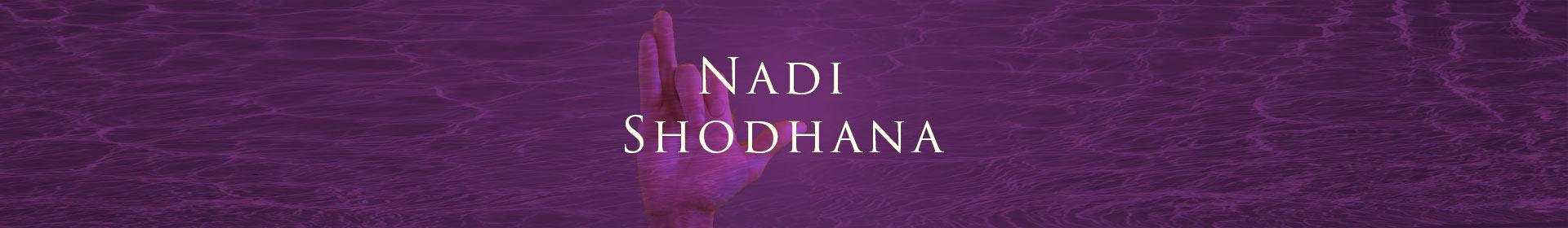 Nadi Shodhana: Pranayama