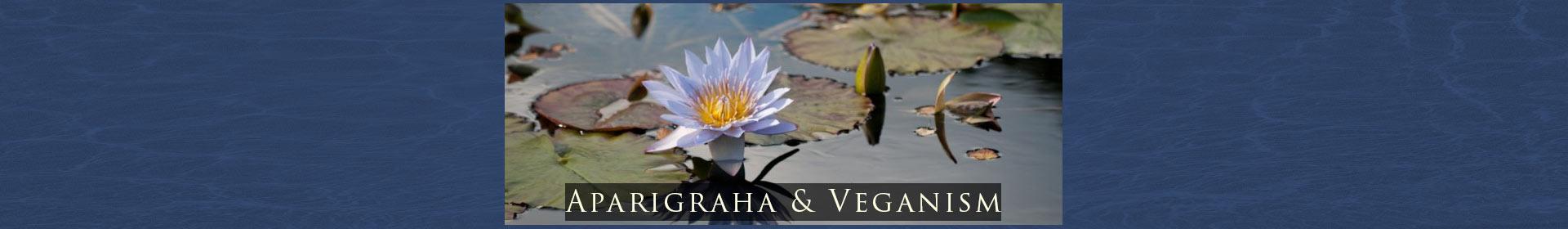 Aparigraha and Veganism
