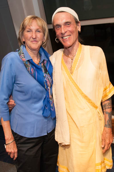 Ingrid Newkirk and David Life