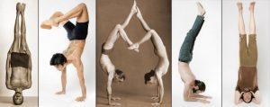 Inversions - the Jivamukti Yoga Focus of the Month