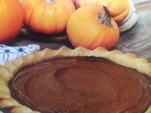 Sharon Gannon Pumpkin Pie Recipe