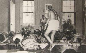 Sri K. Pattabhi Jois leads yoga class at Jivamukti New York