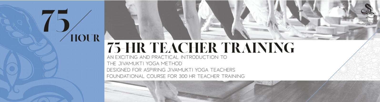 75 Hour Teacher Training